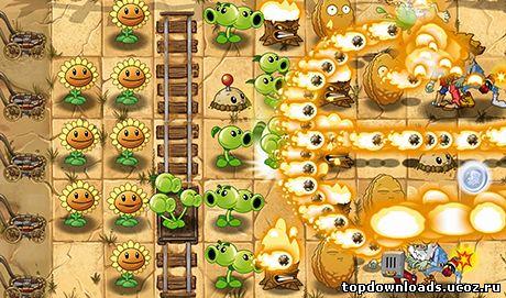 Plants vs zombies 2 на android растения против