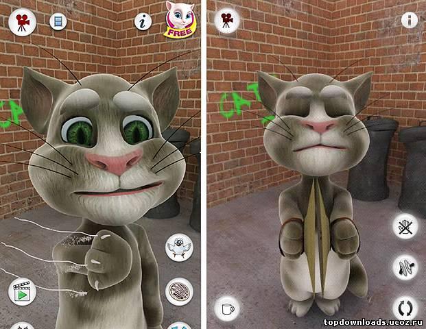 Talking Tom Cat 3 На Андроид
