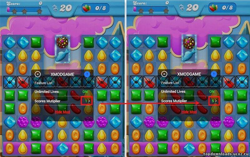 Скачать xmodgames для clash