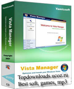 Windows Vista XP 7 Manager